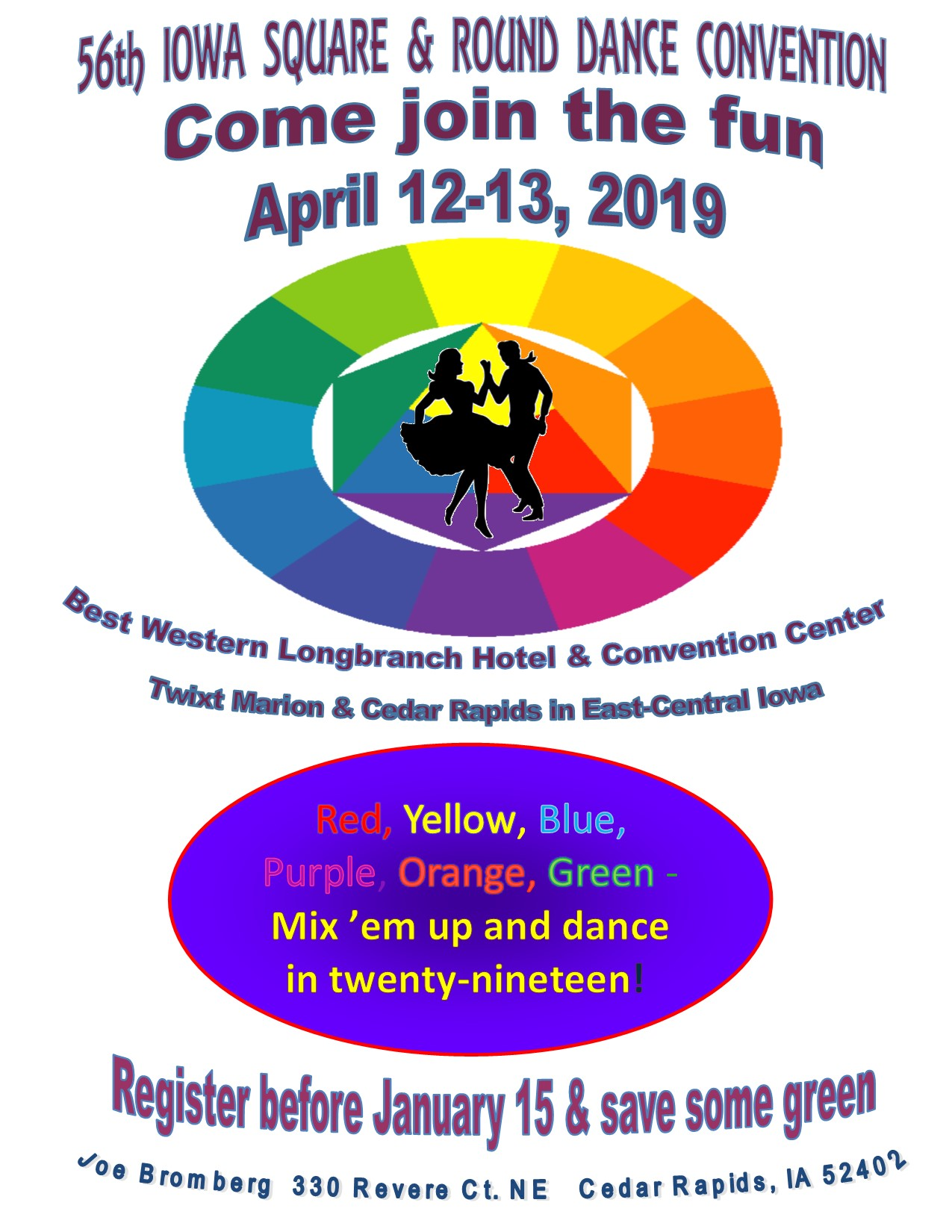 56th Iowa State Square & Riund Dance Convention